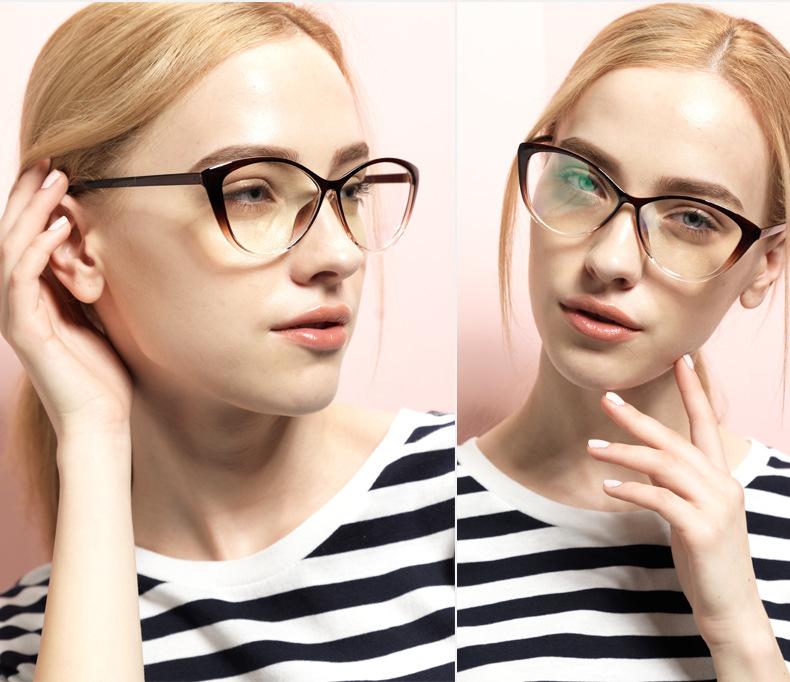 2018 Wholesale 2017 New Cat Style Lens Glasses Frames For Women ...