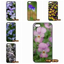 Purple Yellow Rose Viola cornuta TPU Hard Phone Case Cover Lenovo Lemon A2010 A6000 S850 A708T A7000 A7010 K3 K4 K5 Note - Ten End Cases store