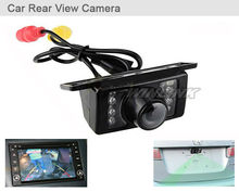 Car Rear View Camera Waterproof Reversing Backup Parking Camera IR LED Night Wide Viewing Angle(China (Mainland))