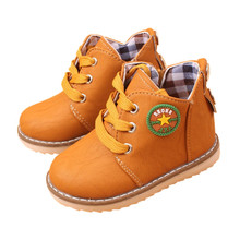 Super Hot Selling Child Boots Shoes For Girls Boys Boots Fashion Flat Baby Toddler Shoes Spring Autumn Children Ankle Boots Kids(China (Mainland))