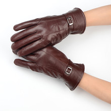 Winter Thicken Women's Gloves Warm Wrist Length Black And Brown Color Choice Luxury Party Date Anniversary Accessories AFX006-1
