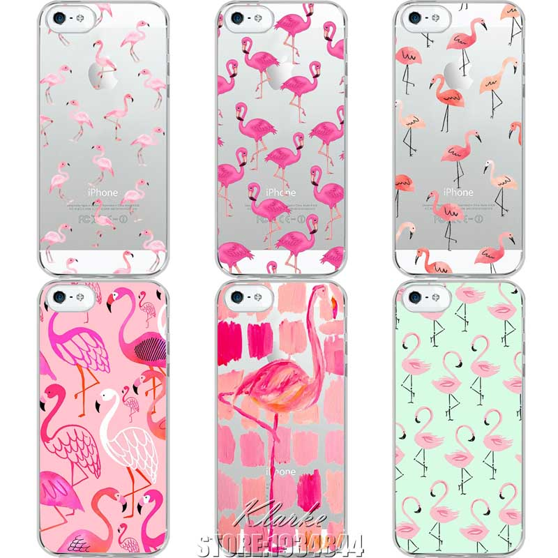 ... -Soft-Silicone-Cases-for-iPhone-5-5s-SE-Flamingo-Phone-Case-Cover.jpg