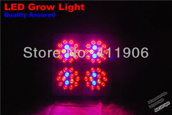 Draw Power 130W led grow panel Lens Version, Apollo Led Plant Lamp, 400W HID Growing Lighting free shipping(China (Mainland))