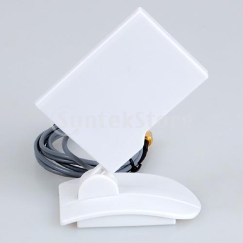 Free Shipping 2.4GHz 9dBi Compact High Gain Yagi Directional Antenna WIFI SMA(China (Mainland))