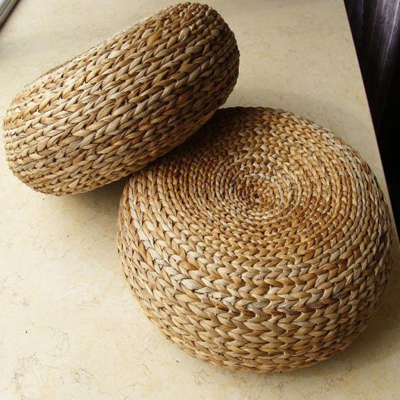 Hot Yoga mat,meditation cushions rattan ottoman stool Traditional natural rattan stool sofa,rattan furniture,wicker stools(China (Mainland))