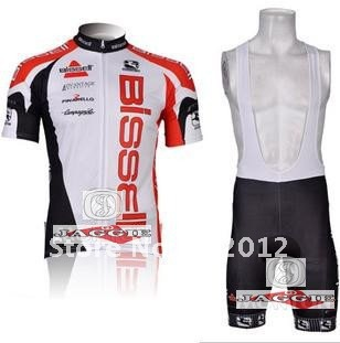 Bissell 2012 riding a bicycle in New Jersey cycling jersey + cycling shorts(China (Mainland))