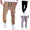 Mens Joggers Male Trousers Full Length Drawstring Men Pants Mallas Hombre Elastic Cross Pants Sweatpants Jogger