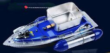Free Shipping 2016 Hot Mini Fast Electric RC Bait Boat 80-300M Remote Lure Boat 6-10 Hours/5200mAH(China (Mainland))