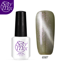 Sexy mix 7M Grey Color Gel Nail Polish Magnetic Ct Eyes UV Art Lacquer - SexyMix Cosmetics store