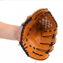10.5inch kids children Leather Softball Glove Fast Pitch thicken Outdoor Sports Softball Baseball Pitcher Gloves(China (Mainland))