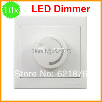10pcs/lot LED Dimmer 300w  AC220V 50Hz Dimming Driver Brightness Controller For Dimmable ceiling light spotlight  Free shipping