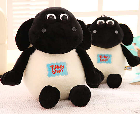 product Gift for baby 1pc 30cm cartoon cute NICI Shawn sheep Timmy Time plush hold doll novelty girlfriend birthday stuffed toy