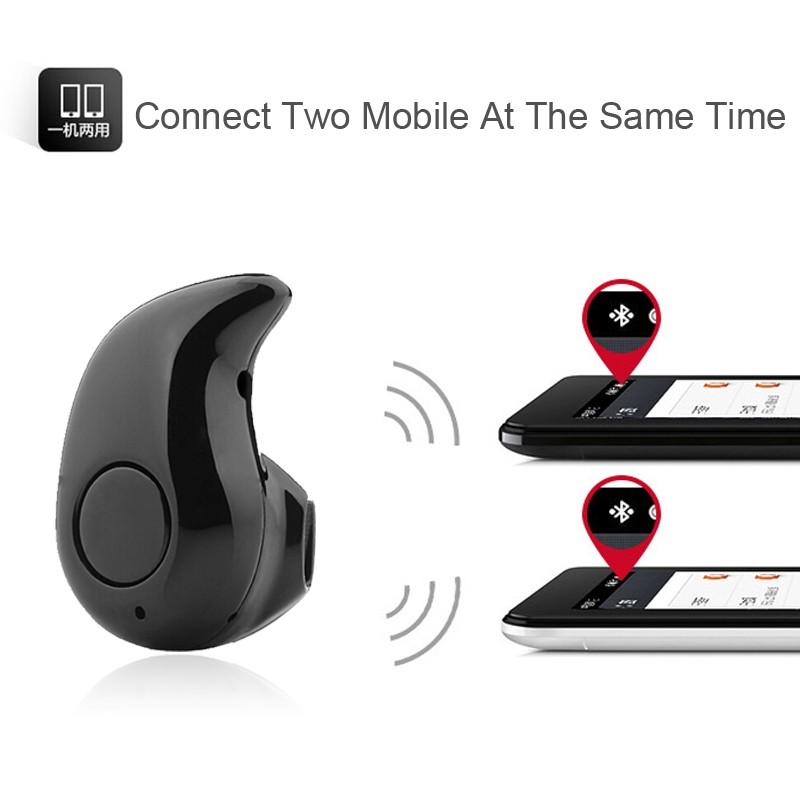 Mini S530 Bluetooth Headset Hand Free Wireless Earphone Stereo Headphone Sport Running Universal For Xiaomi Samsung S7 Edge PC