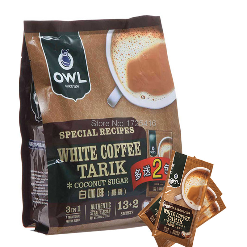 OWL triad of Singapore in 2015 the white coffee 600 g coconut sugar taste 3 in