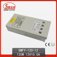Ce RoHS aprobado 120 W caja de Metal de salida única confiable impermeable fuente de alimentación conmutada SMPS 120 W 12 V 10A ( SMFY-120-12 )