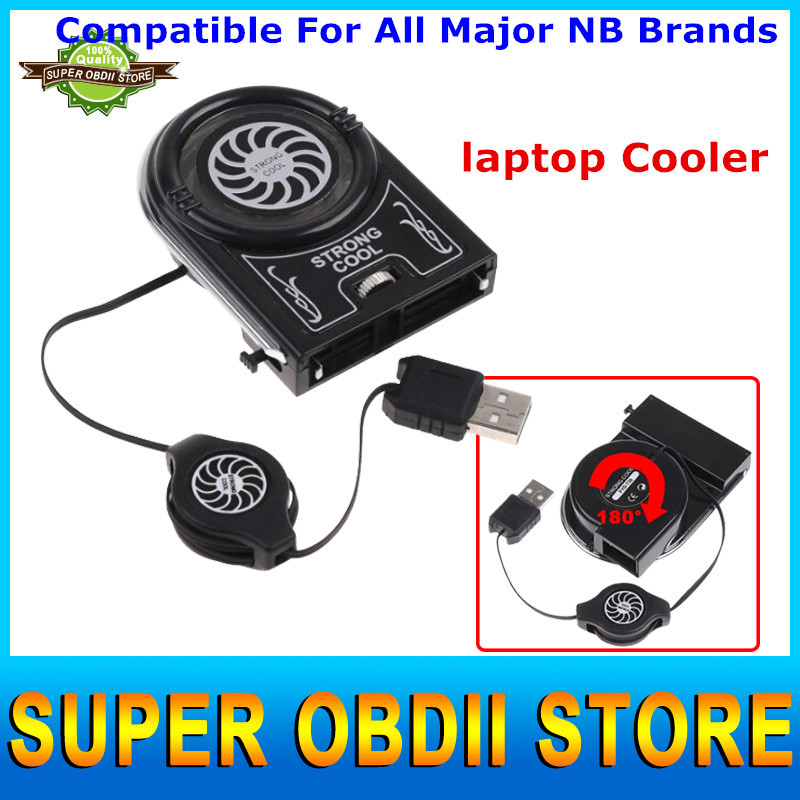 High Quality Laptop Cooler Mini Vacuum USB Air Notebook Cooling Fan New Cooling Pads Notebook Stand Cooler Low Noise Free Ship(China (Mainland))