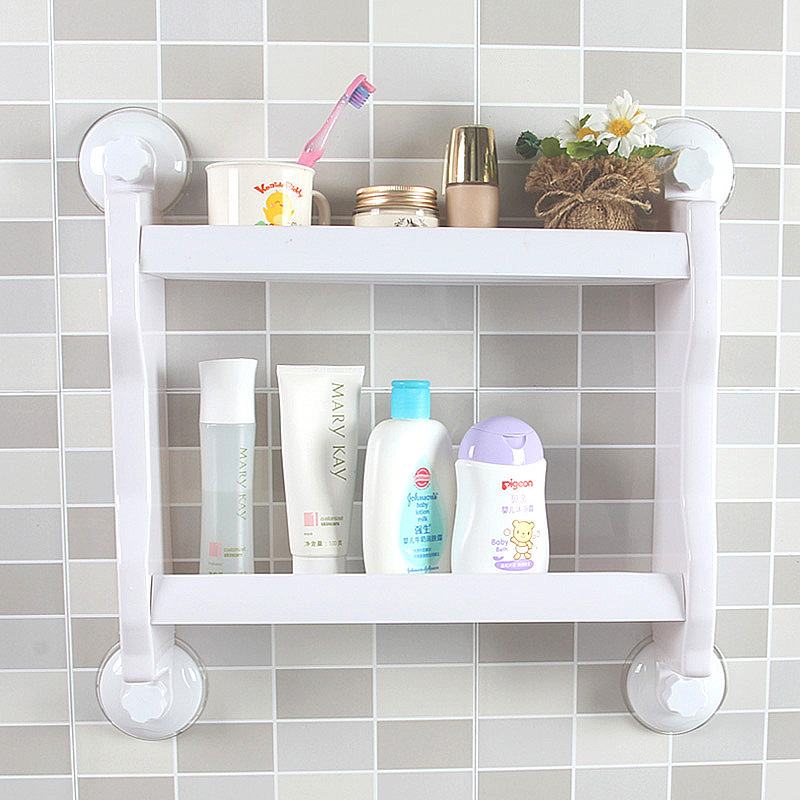47. Sucker Kitchen Bathroom Shelf Bathroom Wall Bathroom Storage Rack .