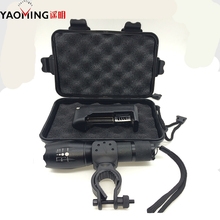 zoomable adjustable xml u2 2000 lumen 5 modes led flashlight t6 LED torch light camp lantern charger+car clip+3xaaa holder(China (Mainland))