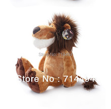 23cm 1pc NICI Toy Genuine Lion Stuffed Doll Plush Toys High Quality Best Gift For Children Free Shipping(China (Mainland))