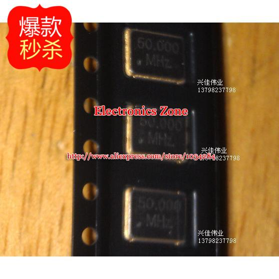 New active Crystal 50MHZ Crystal 5*7 5037 50.000MHZ 3.3V 20PPM(China (Mainland))