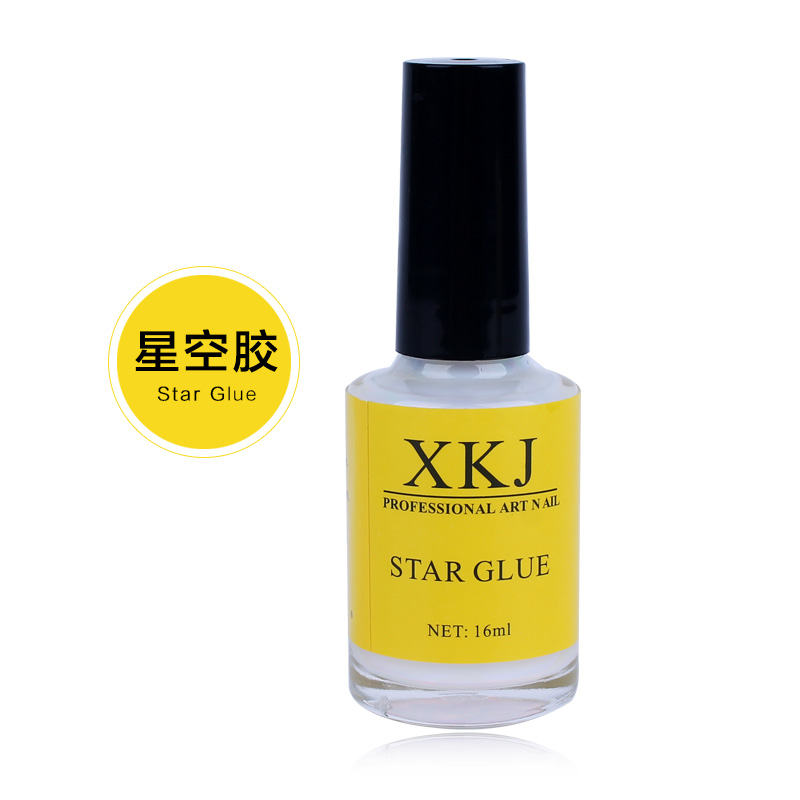 1 pcs Pro Nail Art Glue for Foil Sticker Nail Transfer Tips Adhesive 15ml Glue(China (Mainland))