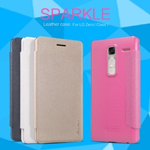 Buy case LG Zero case LG Class NILLKIN Sparkle super thin flip cover leather case Retailed Package for $7.91 in AliExpress store
