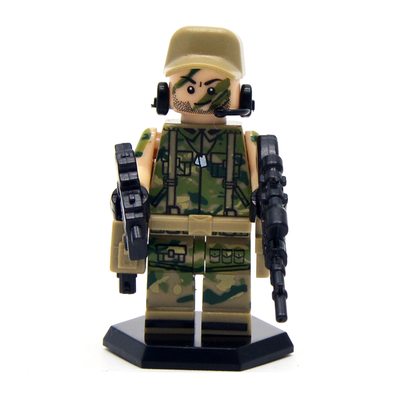6pcs/lot SWAT Heavy Fire Special Weapons And Tactics Kid Baby Toy Mini Figure Building Blocks Sets Model Toys Minifigures Brick