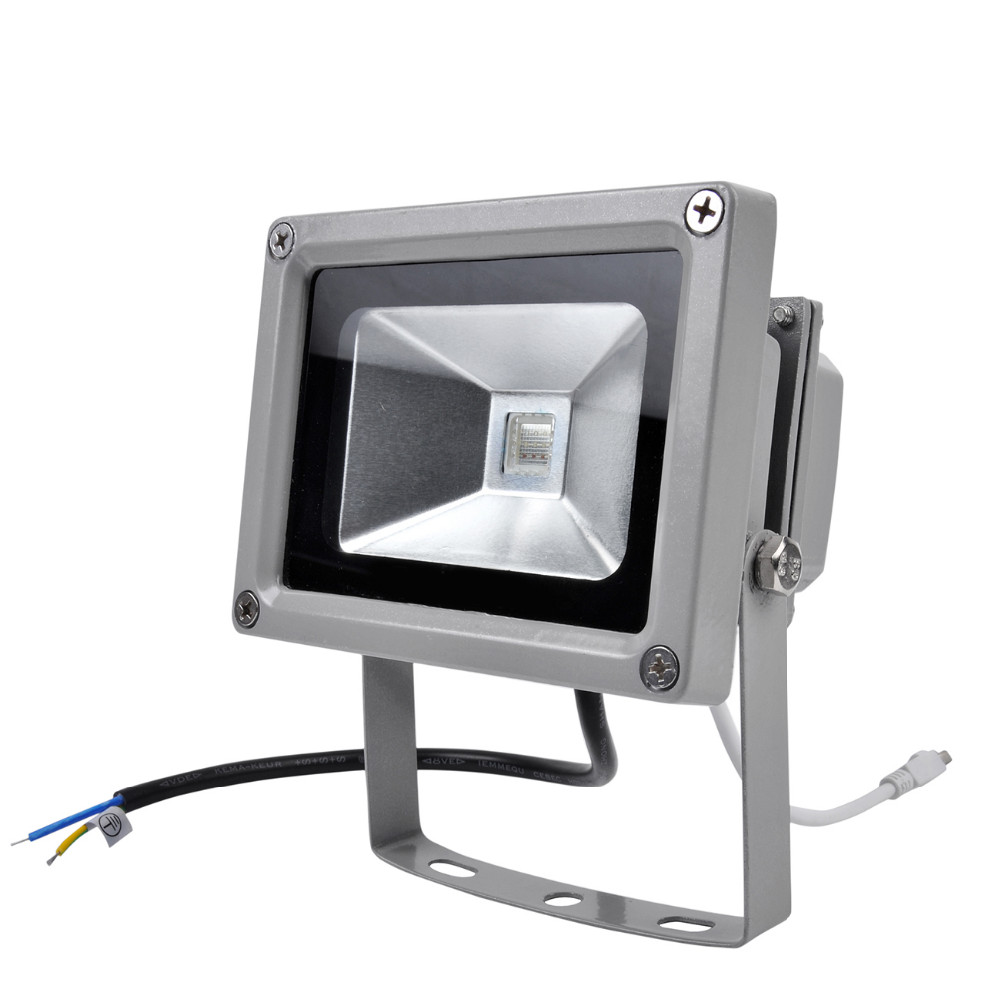 Beautiful Design 10W RGB LED Outdoor Waterproof Flood Light Wash Floodlight Spotlight Lighting With Remote Controller AC85-265V(China (Mainland))