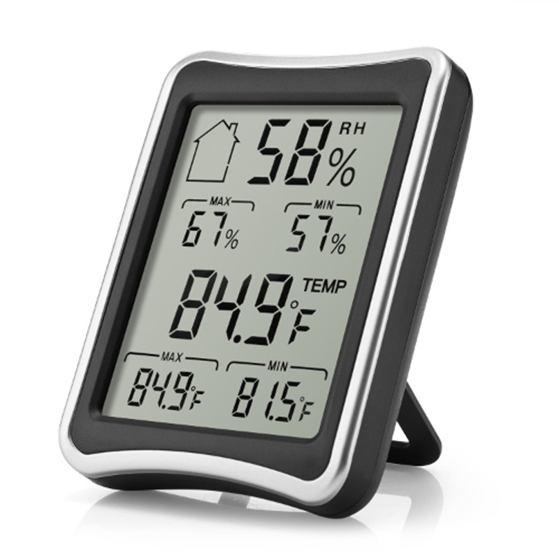 EAAGD Hygrometer Thermometer Indoor Humidity Monitor with Temperature Gauge Humidity Meter - Baby Family Health Care - Works in(China (Mainland))