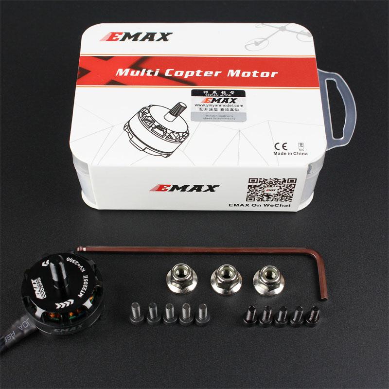 EMAX MT2205 II 2300KV Brushless Motor CW/CCW Racing Edition For RC Multicopter Quadcopter QAV250 QAV210 VS MT2204