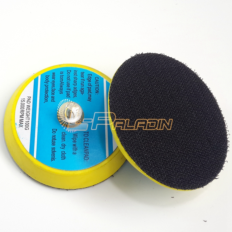 how to change a pneumatic sanding pad