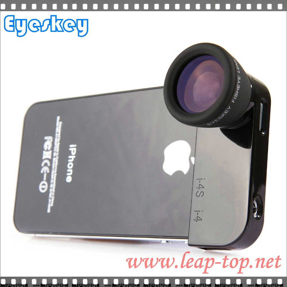 Free shipping ! promotion hot sale ! Eyeskey White 0.5 mini telescope camera phones fisheye lens telescope(China (Mainland))