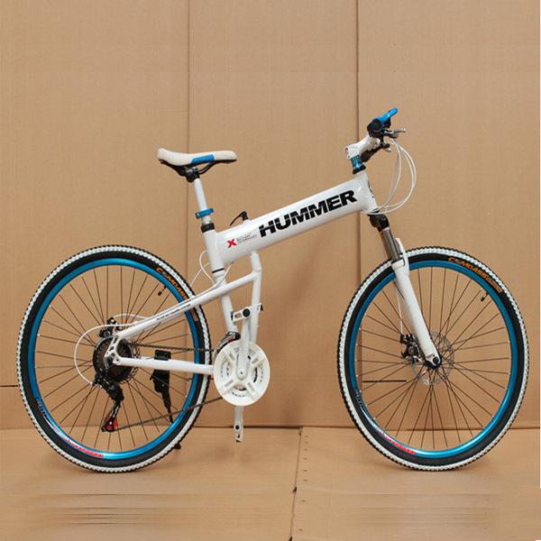 2015 New Bike 26 Inch Wheel 21 Speed Double Disc Brake Student Mountain Bikes Bicycle For Men Floding Bicicleta Mountain Bike(China (Mainland))