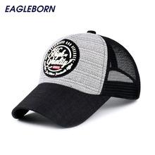Brand New Fashion Super Breathable Baseball Cap with Mesh Summer Style Sun Visor Hats For Women Men Adjustable Snapback Hats (China (Mainland))