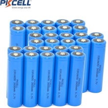 30 x Liion Rechargeable Batteries ICR18650 2600mAh 18650 Batteria Button Top Protection Lithium Battery - Shenzhen Pkcell Co., Ltd. store