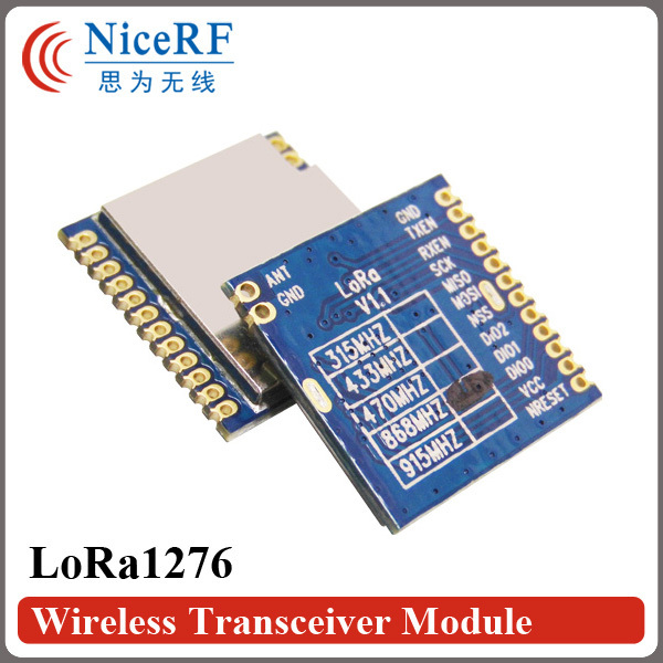 (10pcs/lot) SX1276 Chip Module 915MHz Frequency Band NiceRF Module LoRa1276(China (Mainland))