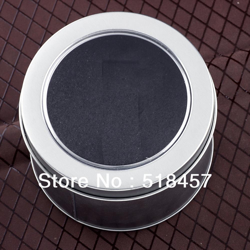 Watch And Jewelry Iron Round Packing Box Gift(China (Mainland))
