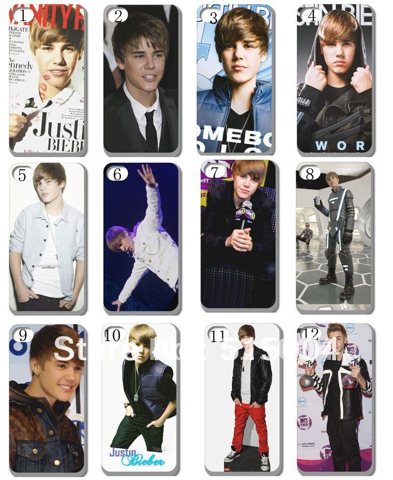 !New Justin Bieber case hard back cover iphone 4 4s 4g 3+