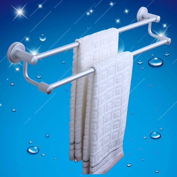 Фотография Space aluminum towel rack double bar hanging long 4050607080C