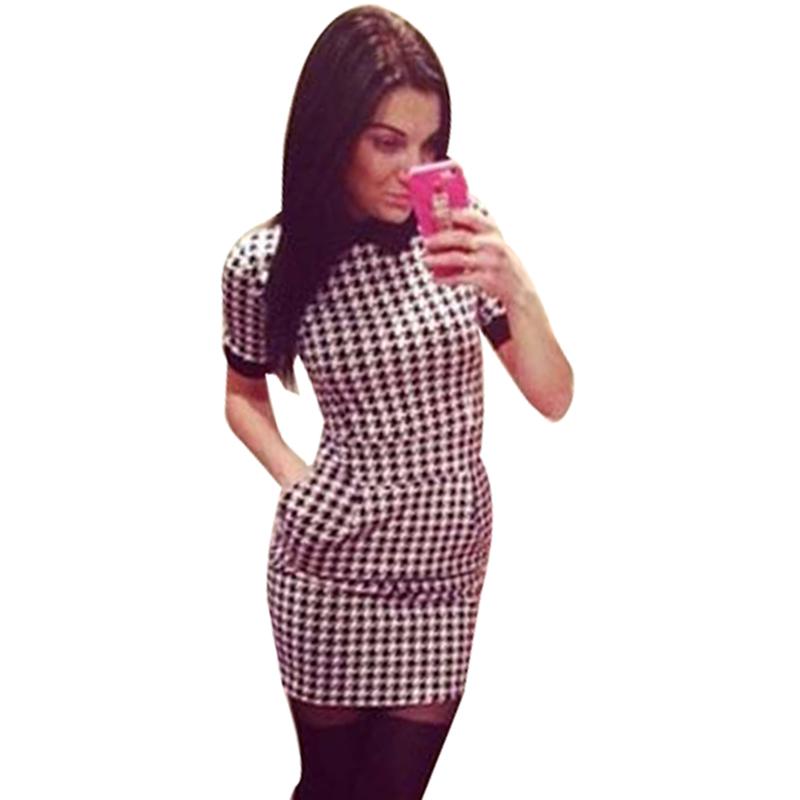 Wholesale 2015 spring summer european fashion dress women slim simple