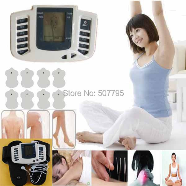 JR-309 Pulse tens Acupuncture with therapy slipper+8 pads Therapy Massager Electrical Stimulator Full Body Care Relax Muscle(China (Mainland))