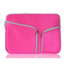 2016 New Fashion Laptop Sleeve Bag Dual Zipper Laptop Bag Case For Apple MacBook Pro 15 bag MacBook Retina 15 bag A1278/A1286bag