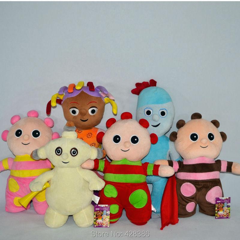 Baby Toy Kids Toys Night Garden Tombliboo Upsy Daisy Lggle Piggle Soft Plush Doll Birthday Gift - Truman Hua's store