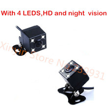 Free shiping Waterproof CCD HD night vision 360 degree car rear view camera