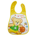 New Waterproof Baby Bibs Cartoon Cute Bear Bounce Pattern Bibs Infant Burp Cloth Scarf Saliva For