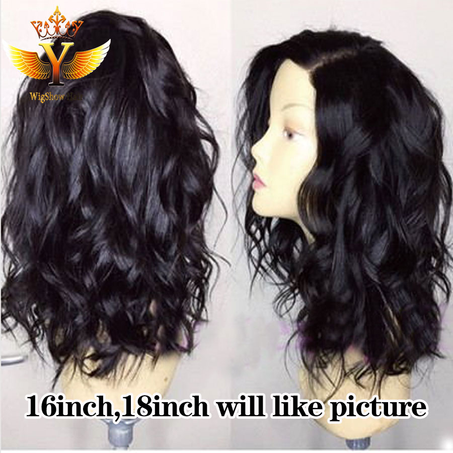 Фотография Custom Made Affordable Full Lace Human Hair Wigs Free Part Lace Front Human Hair Wigs Full Lace Human Hair Wigs For Black Women