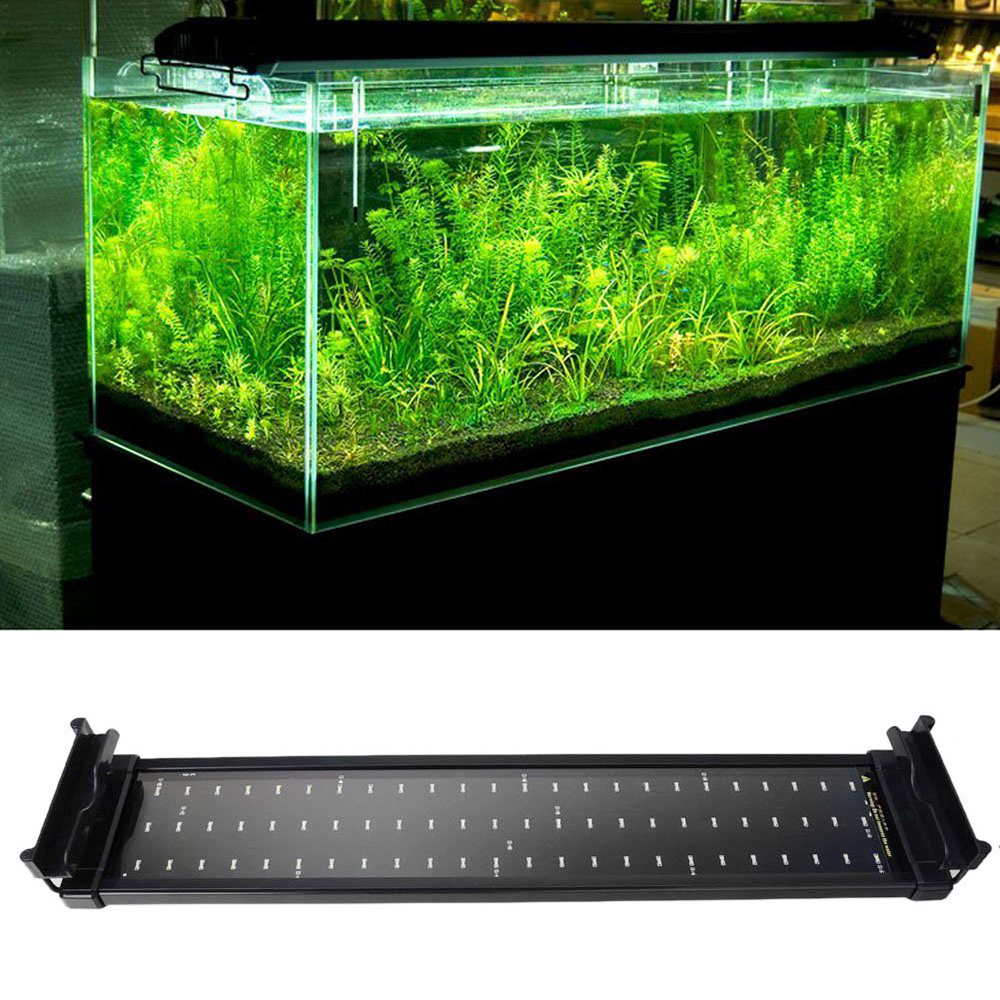 Aquarium Fish Tank Smd Led Light Lamp 11W 2 Mode 50Cm 60 White + 12 Blue Eu/Uk/Us Plug Marine Aquarium Led Lighting Aquario(China (Mainland))