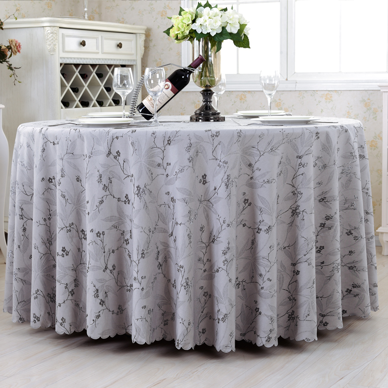 Popular Grey Tablecloth Round Buy Cheap Grey Tablecloth  : Top Luxurious font b Round b font Table Cover Rectangle font b Tablecloths b font Hotel from www.aliexpress.com size 800 x 800 jpeg 362kB