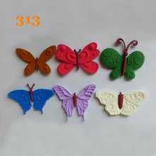 9.4*11.5*0.8cm Butterfly Fondant Mold For Cake Decorations Silicone Sugarcraft Mould Kitchen Accessories