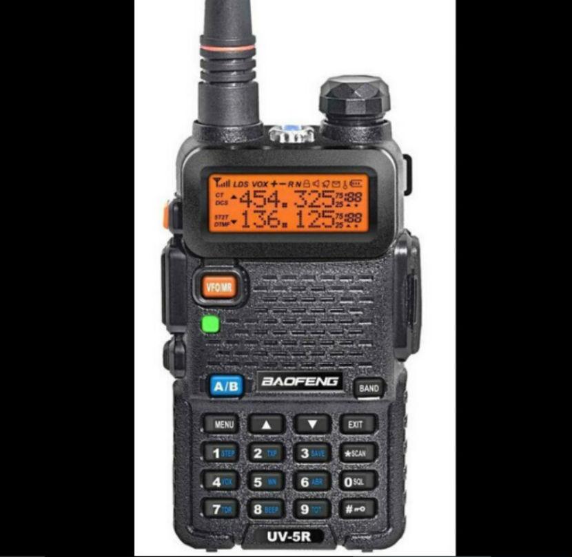 Baofeng uv 5r Walkie Talkie 5W Dual Band Portable Radio UHF&VHF UV 5R 136-174MHz&400-520MHz CB Radio A0850A baofeng uv 5r(China (Mainland))